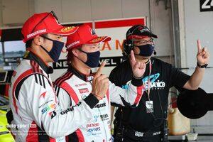31号車TOYOTA GR SPORT PRIUS PHV apr GTが今季初ポールポジションを獲得【スーパーGT第3戦鈴鹿300クラス予選】