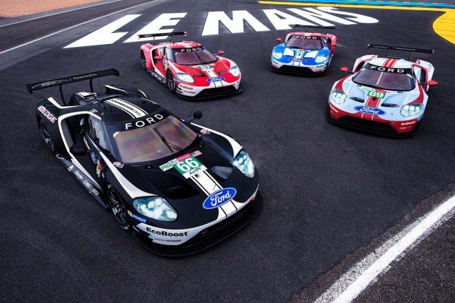 WEC:フォード、ワークス体制最後のル・マンに臨む『GT』の特別カラーを公開
