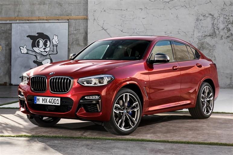 新型BMW X4発表。高性能ディーゼルのM40dもラインアップ