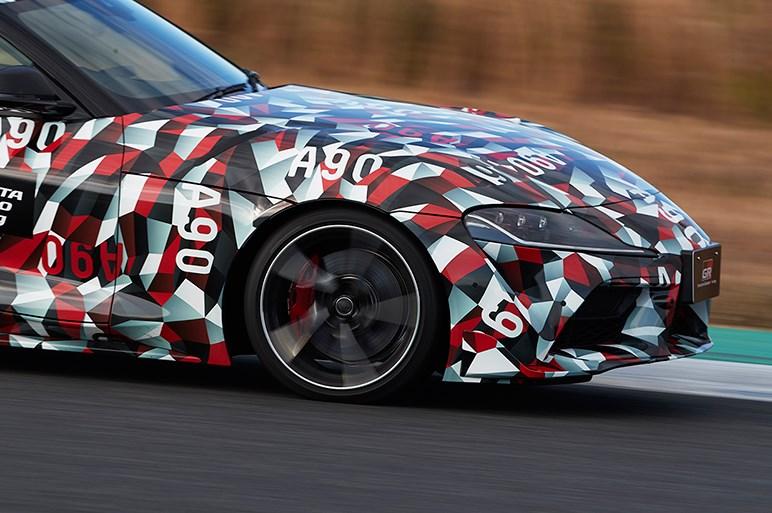 トヨタ スープラ試作車は限界域でピーキーな走り。86とは世界が違う