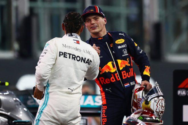 フェルスタッペン、2番手から優勝狙う「チャンスはある。最後まで諦めずルイスに挑む」レッドブル・ホンダF1