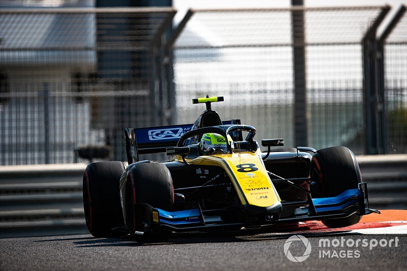 FIA F2アブダビ・レース2:ギオット今季4勝目。松下信治は7位入賞