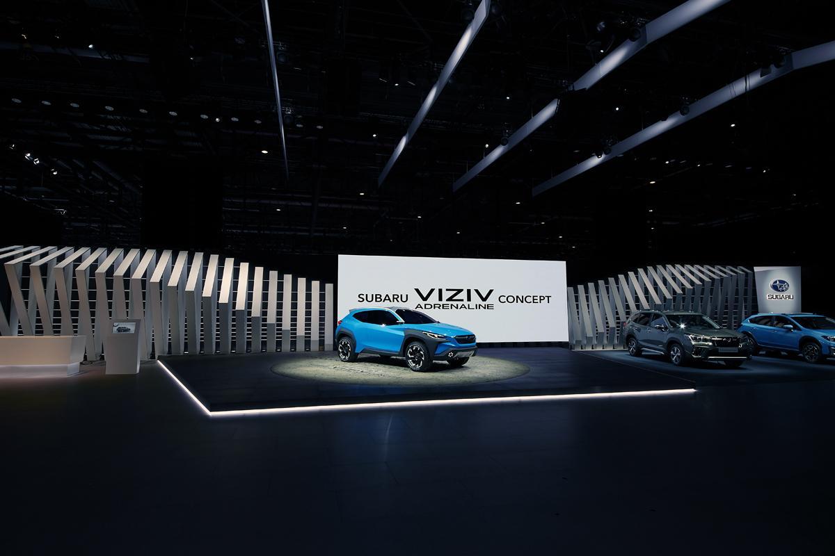スバルの新たなデザインがスタート! VIZIV ADRENALINE CONCEPTは完全ニューモデルの可能性大