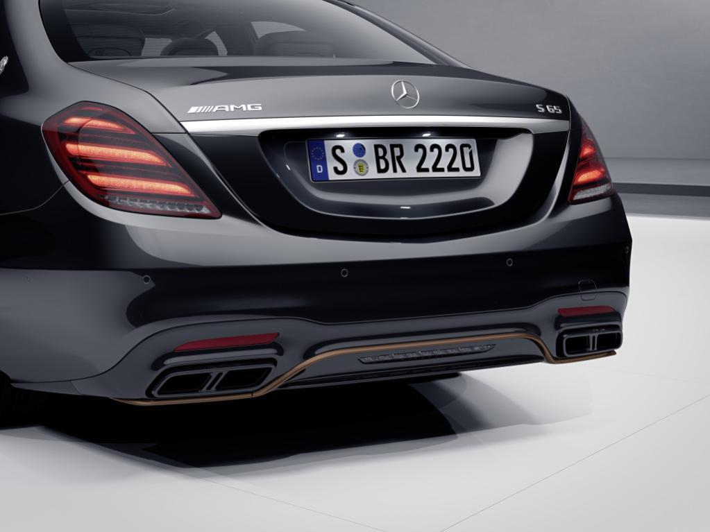 新車で買えるラストチャンス! 最後のV12エンジン搭載モデル「メルセデスAMG S 65ファイナルエディション」を限定130台で発売【ジュネーブショー2019】