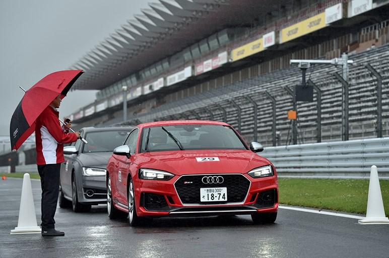 アウディ レースエクスペリエンスに参加。本格的スポーツドライビングを満喫