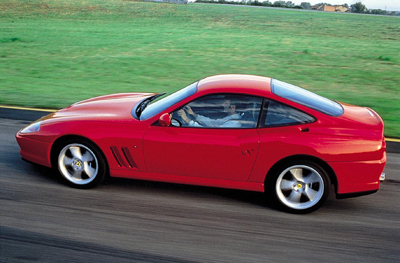 【FRへの憧憬 04】フェラーリ 550マラネロは、快適さと豪華さに加え運動性能も秀でた存在に