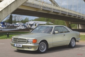 英国版中古車のすゝめ W126型Sクラス メルセデス・ベンツ380SEC-560SEC