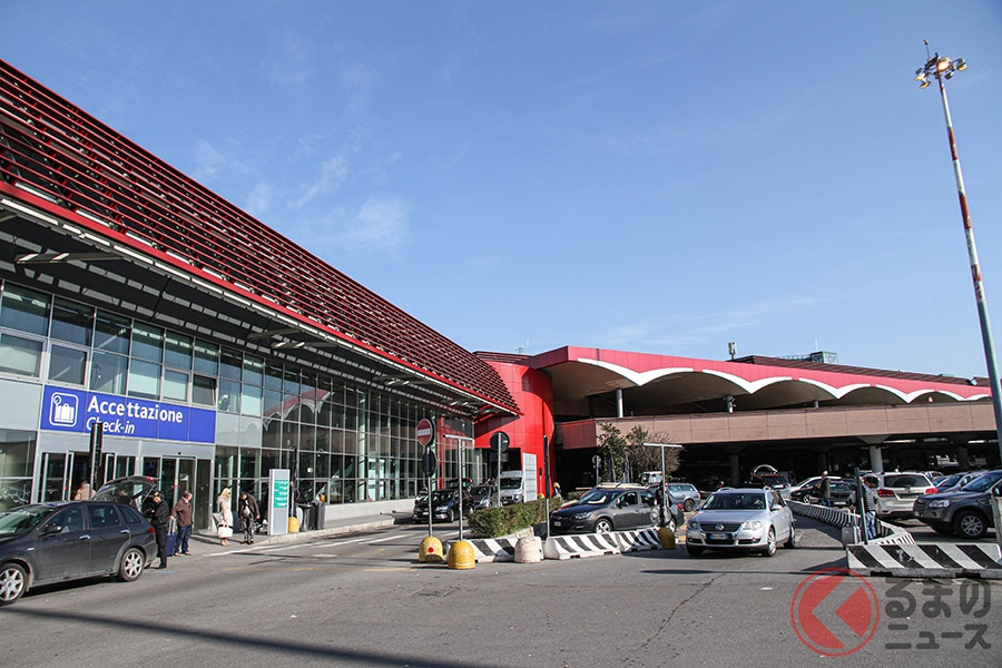 ランボルギーニ「ウラカン」がはたらく車に!? スーパーカーが空港に現れたワケ