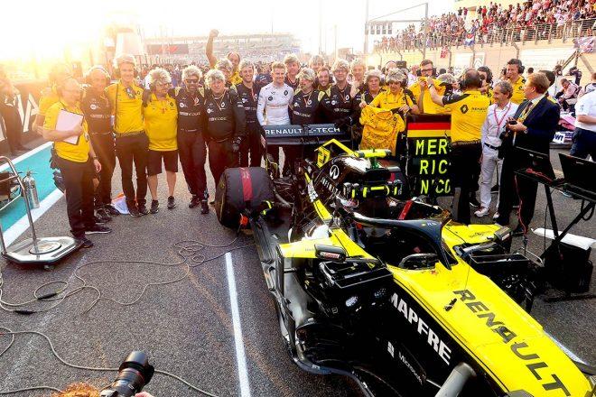 F1 Topic:去りゆくヒュルケンベルグへ駆け寄ったあるドライバー