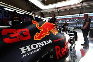 レッドブルF1のフェルスタッペン「ホンダはパワーの面でメルセデスにほぼ追いついた」