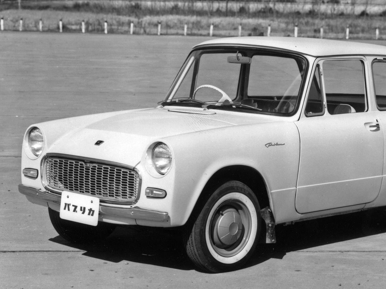 【昭和の名車 114】トヨタ パブリカは、大衆車の切り札として登場した