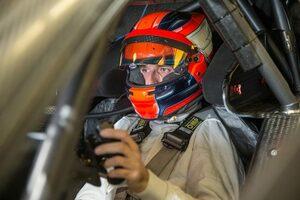 ロバート・クビサ、DTMヤングドライバーテストを終える「楽しいクルマだった」