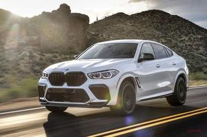 【称賛したくなる624psの恐竜】BMW X6 Mコンペティションへ試乗 V8ツインターボ