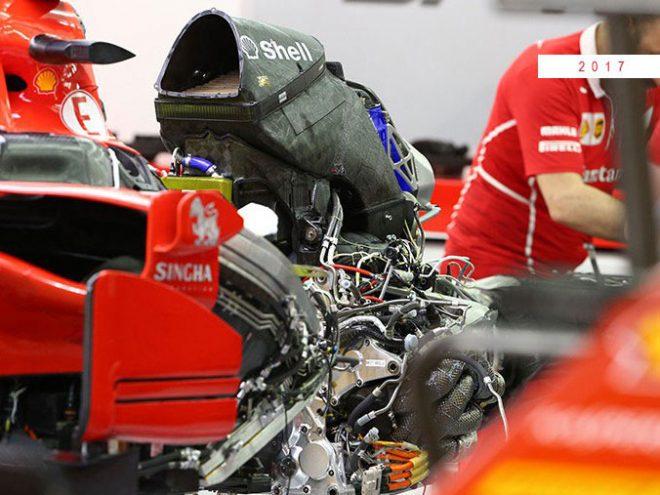 F1技術解説 フェラーリPU開発の軌跡(2):単一のインタークーラーに回帰しさらなる進化
