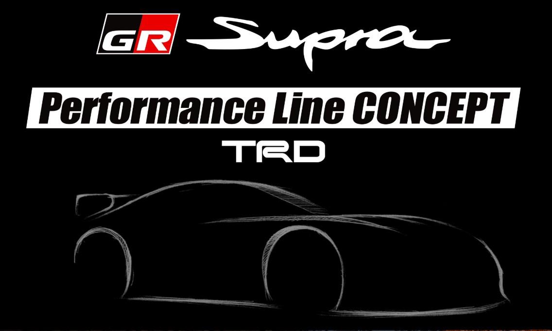 TRD「GRスープラ パフォーマンスライン コンセプト」を大阪メッセで初披露へ