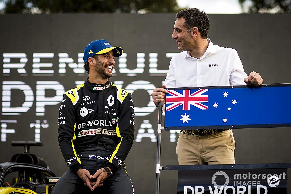 """ルノー代表、2021年のドライバー決定は""""慎重""""に行なうと発言。F1活動継続の布石か?"""