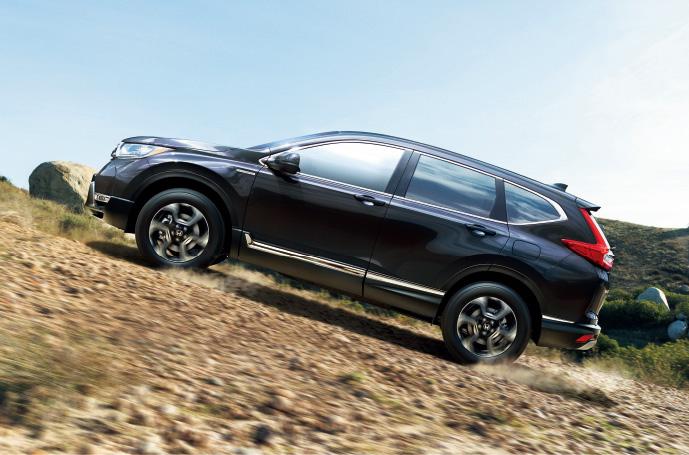 ホンダ、大きく進化した新型「CR-V」発売、初のハイブリッドモデルも投入