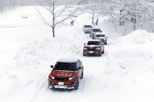 ジャガーとランドローバーのAWD解説と雪上試乗レポート