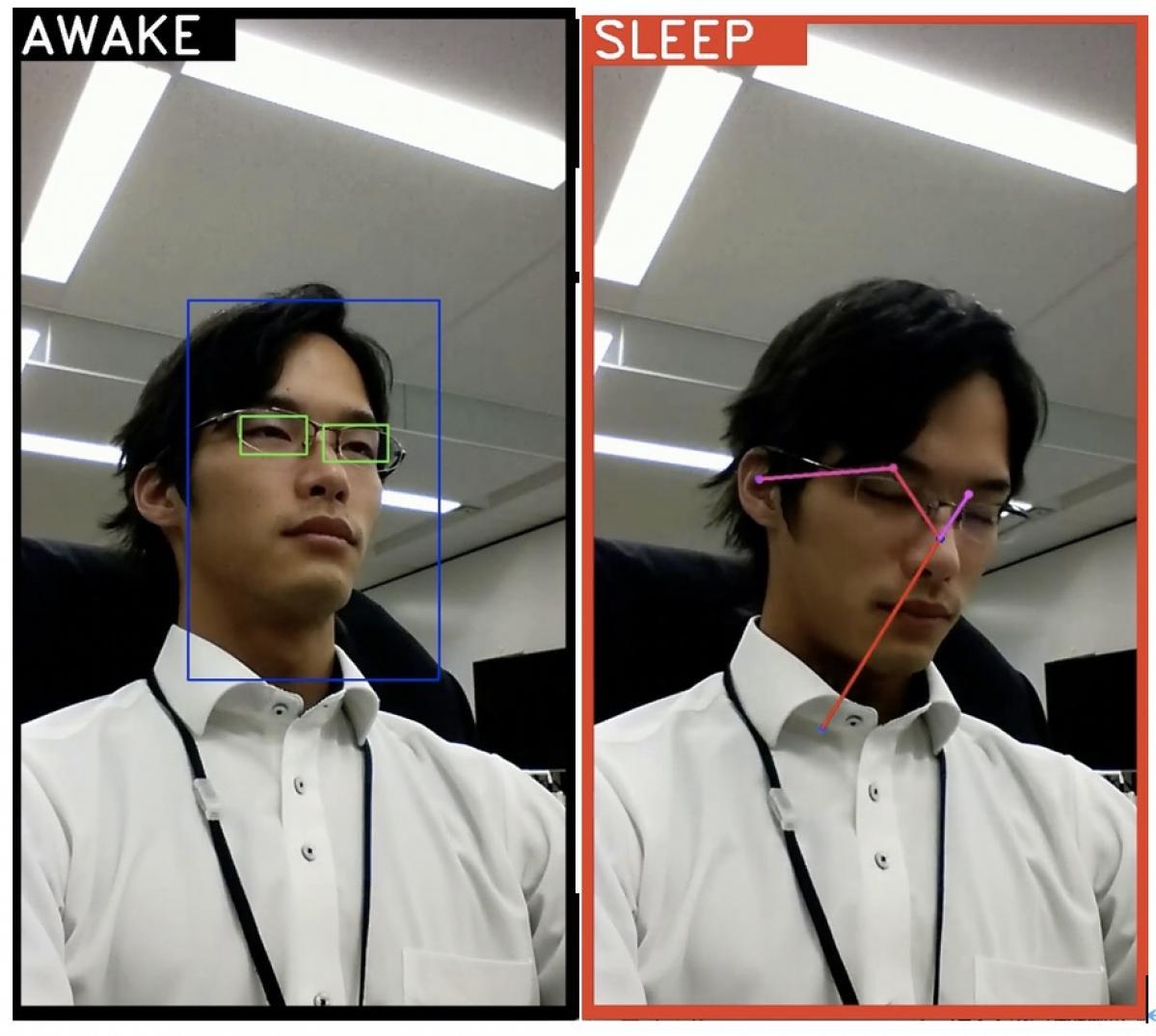 Automagi:映像から運転中の居眠りを検知するNTTドコモのAIシステムの開発を支援