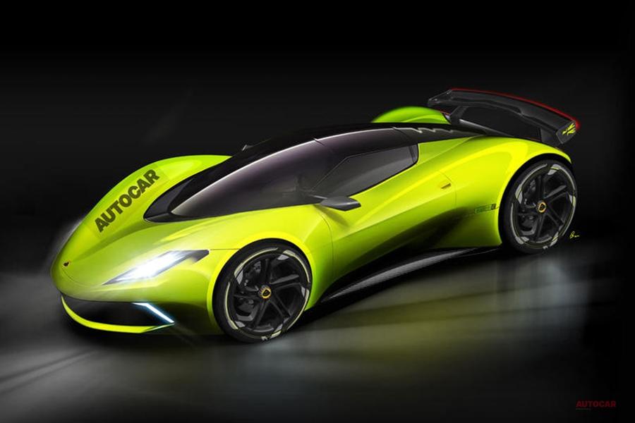ロータス 3億円級のEVハイパーカーを計画か