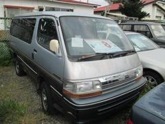 トヨタ ハイエース の中古車 2.8スーパーカスタム 4WD 8名 北海道帯広市 38.0万円