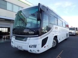 日野自動車 セレガ 39人乗りバス 貫通トランク3室 トイレ付き フルエアサス ニーリング