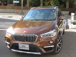BMW X1 xドライブ 20i xライン 4WD パノラマガラスサンルーフ 白レザーシート
