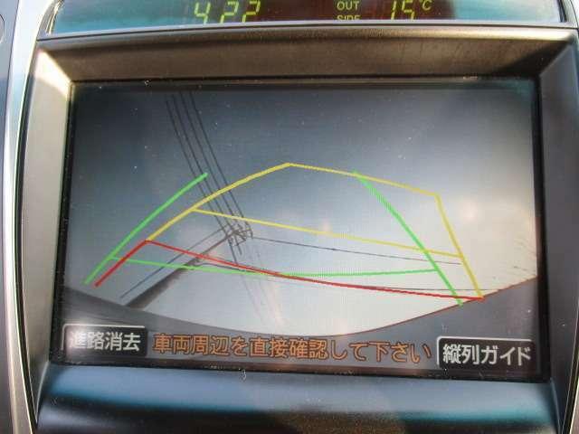 車体が大きくなるほどバックカメラ付きが嬉しいですV(^_^)V