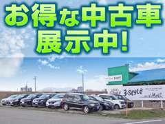 軽自動車、コンパクトカー、ミニバン、SUVとどんなジャンルでも4WDの車を揃えています!4WDの車はお任せください!
