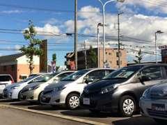40台規模の展示場に試乗車や下取り車を中心とした高品質なU-Carを取りそろえ☆さらに「T-Value」車も多数ご用意しております!