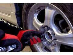 タイヤなどのパーツ販売も取り扱っております。