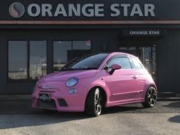 フィアット 500(チンクエチェント) ピンク 限定50台 アルミホイール 内装黒