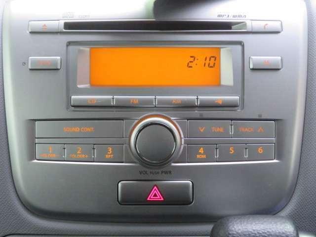 純正CDチューナーです。ナビ・オーディオ取り付けの場合、別途インテリアパネル等が必要となります。詳しくは営業まで。