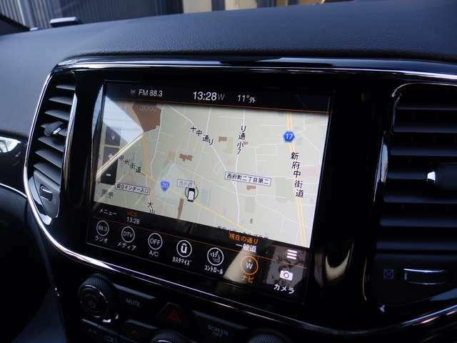 AppleCarPlay・androidauto採用です。弊社のUcconect システムは使い勝手GOOD!