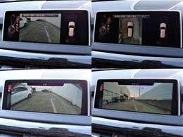 トップビューカメラにより障害物の確認、サラウンド謬カメラにより前後を降格に確認できます☆