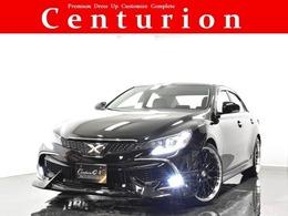 トヨタ マークX 2.5 250G リラックスセレクション ブラックリミテッド HDD 新品20AW 新品エアロ 現行仕様 1オナ