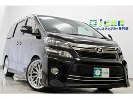トヨタ ヴェルファイア 2.4 Z ゴールデンアイズ 4WD ワンオナ 9型BIGX 新品サス新品タイヤ/20AW