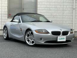 BMW Z4 ロードスター2.5i 社外オーディオ/BT/革シート