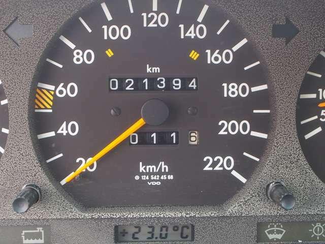 ★メーターの走行距離21394Km。