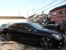 トヨタ クラウンアスリート 2.5 ナビパッケージ 20AW 車高調 LEDテール フルセグTV DVD