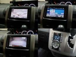 HDDナビです!フルセグTV視聴可能!DVD再生可能!バックカメラ付きで駐車も安心!