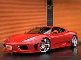 フェラーリ 360モデナ F1 正規D車白茶本革S外エアロ可変マフラー