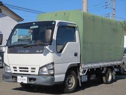 いすゞ エルフ 3.1 フラットロー ディーゼル 幌 トラック