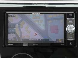 メモリーナビゲーション フルセグテレビチューナー付き DVDビデオも再生できます。