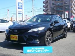 トヨタ カムリ 2.5 WS レザーパッケージ サンルーフ ドラレコ付き