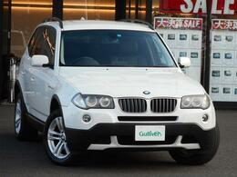 BMW X3 2.5si 4WD 4WD 本革シート サイドカメラ クルコン