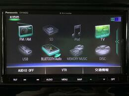【社外SDナビ(CN-RA05D)】CD/DVD/Bluetooth/フルセグTV/音楽録音対応