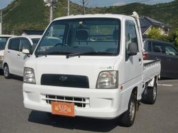 スバル サンバートラック 660 TC 三方開 4WD 5MT エアコン ラジオ