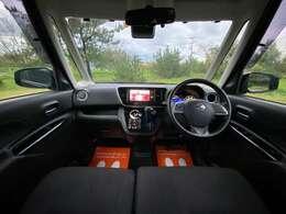 車内は軽自動車とは思えない、十分な広さ!ストレスなく運転を楽しめます!