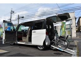 ダイハツ タント 660 フレンドシップ スローパー リヤシート付仕様 福祉車両 車椅子移動車 電動固定装置